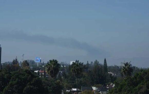 Asfixia contaminación a Corredor Industrial